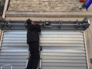 Déblocage rideau métallique Cannes